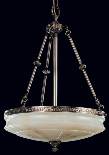 Alabaster chandelier chandelier roman pewter white alabaster category alabaster chandeliers aloadofball Image collections