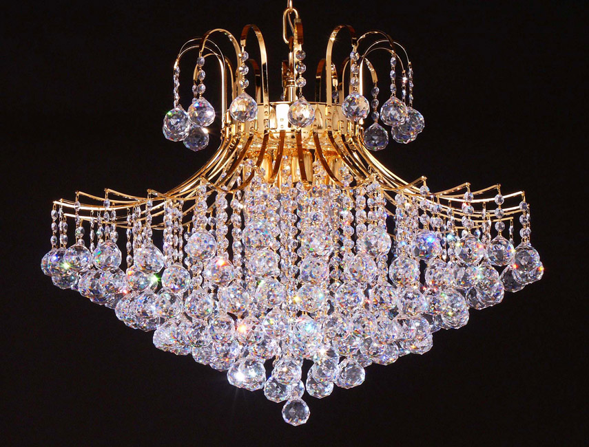 Bedroom lighting gold chandelier crystal asfour crystal category crystal chandeliers aloadofball Choice Image